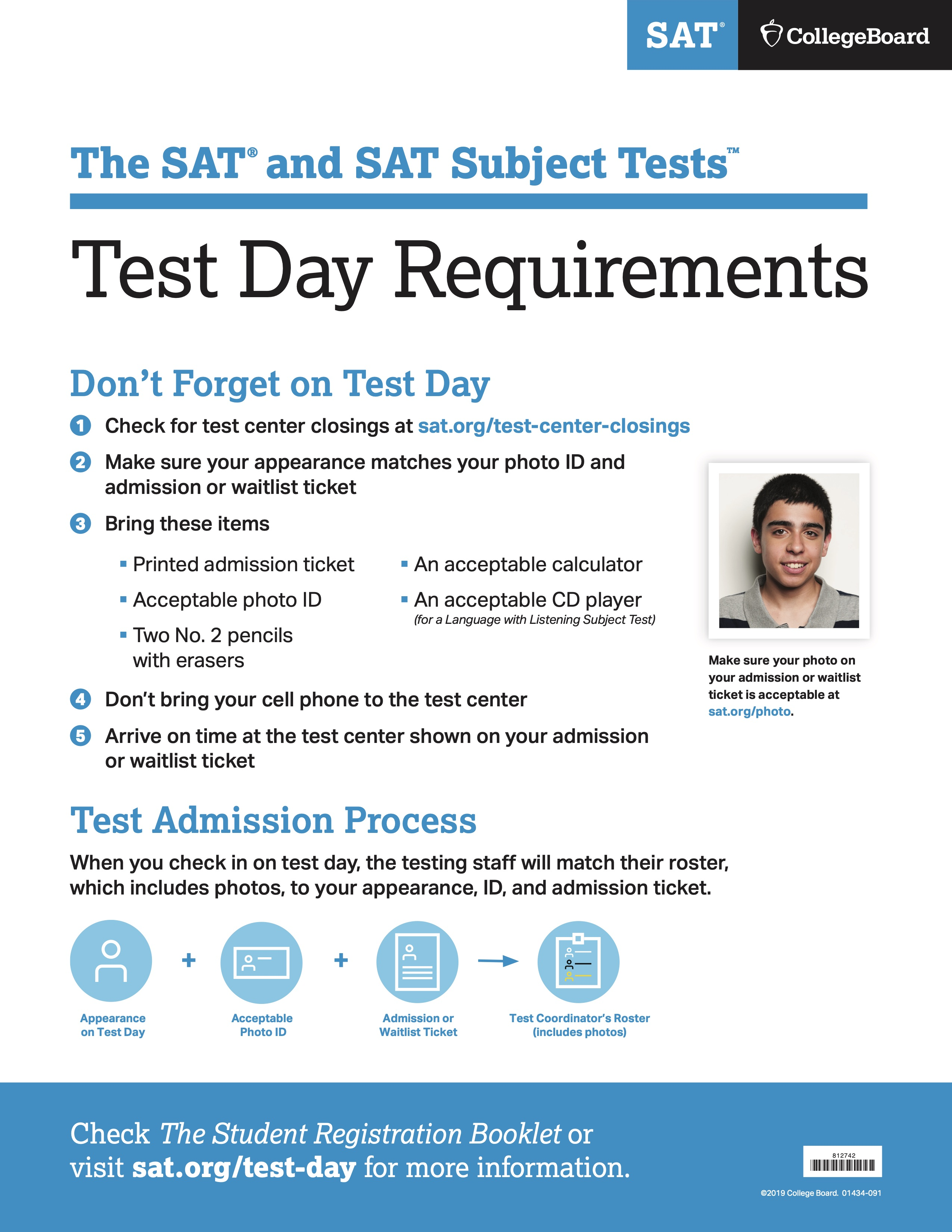sat test center check in quick guide