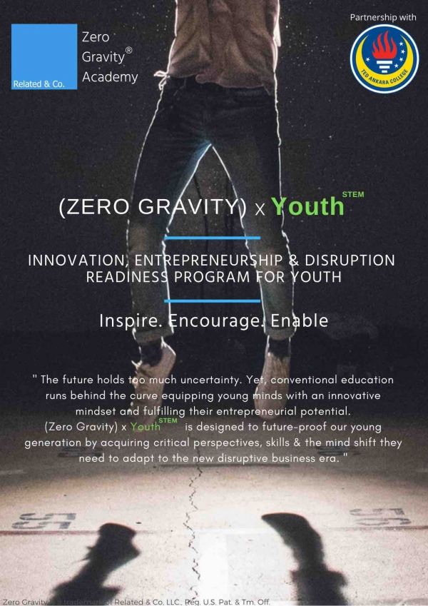 TED Ankara Koleji'nde Yeni Program: (Zero Gravity) x YouthSTEM